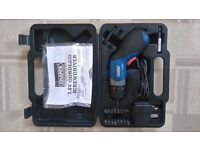 DRAPER RECHARGEABLE BATTERY SCREWDRIVER WITH ACCESSORIES
