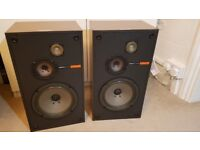 Vintage Sony SS-2030 3 way Speakers with SEAS drivers 1978
