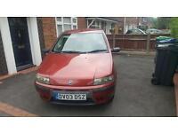 2003 Fiat Punto 1.2 Active 12 MONTHS MOT. Cheap insurance.