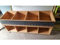Playroom furniture bundle would suit a childminder. Table kinder box light table