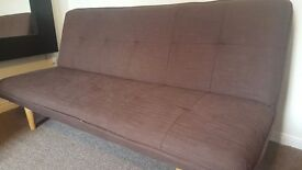 3 Seater Bridport Sofa Bed for sale. Cost 179.99, 6 months ago. Will sell for £75. Collection only.