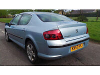 2007 57 PEUGEOT 407 SE 2.0 HDI DIESEL MOT 04/16 87K(PART EX WELCOME)FREE DRIVEAWAY INSURANCE