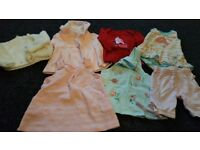 Little bundle of baby girl clothes, 3-6 months