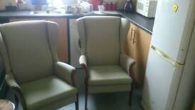 2x Parker knoll. Chairs