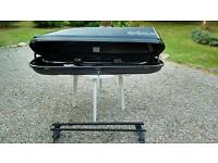 Halfords exodus 275 litre roof box with bars