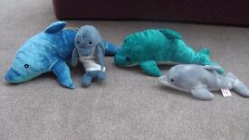 Soft Toy Dolphins