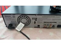 Panasonic DMR-EX98V DVD & VHS player/recorder, 250GB Hard drive,SD Card Reader