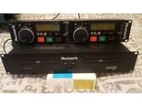 Numark Professional Dual CD Player & Mixer
