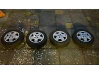 Vahuxall Corsa C alloy wheels