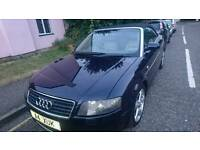 AUDI A4 2004 CONVERTIBLE AUTO DIESEL 2003 PRIVATE PLATE MOTD 130K ONLY 1950