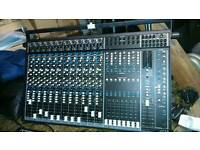 Seck (Soundcraft) 12/8/2 Mixing Desk