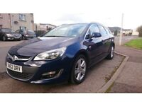 FOR SALE: Vauxhall Astra 2.0 CDTI SRI. 2012. 47000miles. Full service history. MOT until Sep 2018.