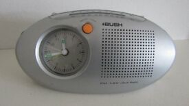 A NICE BUSH FM/MW RADIO/ALARM CLOCK. WORKS GREAT.