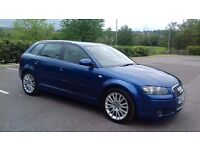 2007 Audi A3 1.9 Tdi Sportback Nearly Full service history full mot Excellent drives cheap to run