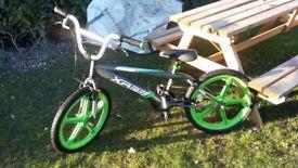 Harlem Xr22 20inch Skyway Mag Bmx Freestyler Bike Green