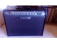 spider line6 Mk 3 120watt amp & shortboard not gigged, ex condition