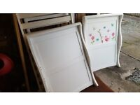 White John Lewis Martha Sleigh Cot Bed