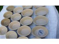 Mason Cash Glazed Ceramic- Set of 6 Oval Baking Dish - Size 2-Tapas-Pies- Bread-FREE UK DELIVERY