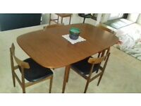 Original Vintage Retro G-Plan Dining Table, Chairs & Sideboard
