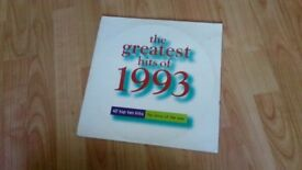 2 x vinyl LP greatest hits of 1993 depeche mode suede new order prodigy utah saints