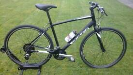 2017 SPECIALIZED SIRRUS FLAT BAR HYBRID BIKE * USED ONCE / UNMARKED SHOWROOM CONDITION *