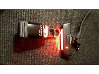 USB Rear bike lights