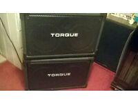 pair of torque 60 watt speakers