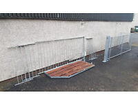 film set fencing from T2 trainspotting