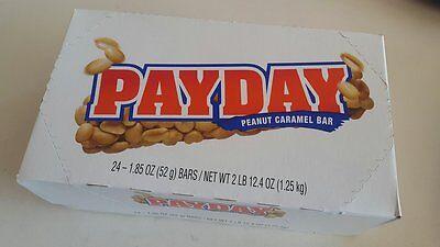 Vegan Halloween Candy (PAYDAY Peanut Caramel Candy Bar, 24 - 1.85 oz Bars,Gluten Free,NON)