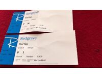 Tim vine tickets x2 weds 21st February 2018 at Redgrave theatre
