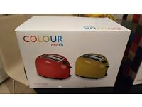 Argos Colour match Toaster Green - Hardly used