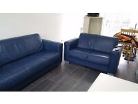 LEATHER SOFAS MUST GO NOW AS NEW SUITE ARRIVING SHORTLY!