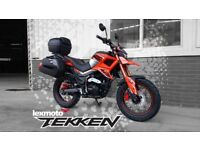 Lexmoto Tekken 125cc - 2YRS Parts & Labour Warranty - FREE LUGGAGE - Finance Available!