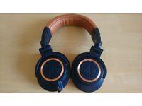 Audio-Technica ATH-M50XBL Studio Monitor Professional Headphones - Blue