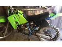 Kx 125 field bike