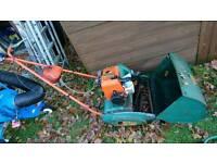 Suffolk super punch lawnmower