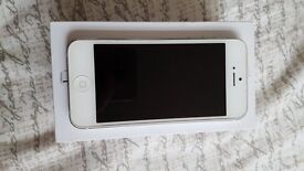 White iPhone 5, Great Condition