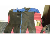 Drysuit and undersuit