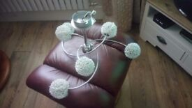 LIGHT FITTING LIVING ROOM ONLY 2 MONTHS OLD