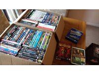 Large bundle of dvds