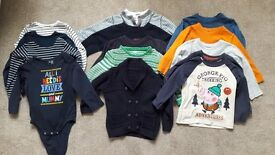 BUNDLE OF BOYS TOPS (Aged 18 ~ 24 months)