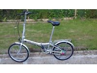 "MENS WOMENS ADULT UNISEX LAND ROVER CITY LITE 20"" WHEEL 6 SPEED LIGHTWEIGHT FOLDING BIKE BICYCLE"