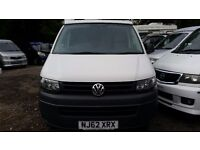 2012 VOLKSWAGEN TRANSPORTER T5 T5.1 POP TOP 56,000 MILES FROM ONE OWNER 2.0 TD