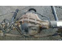 Twin wheel axle for Ford Transit pick up