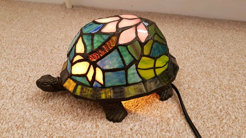 tortoise lighting. Unique Stained Glass Tortoise Lamp Lighting