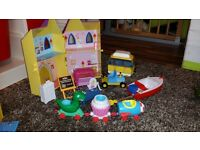 peppa pig toys bundle excellent condition