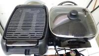 electric frying pan/electric grill