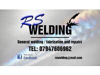 RS Welding. Welding fabrication & repairs. 07947606962