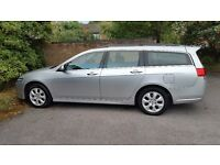 HONDA ACCORD ESTATE, PETROL, SEMI AUTO, 2 KEYS, 2 OWNERS, 06 PLATE, 117K MILES, MOT, TAX, VGC