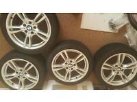 Genuine set of bmw alloys